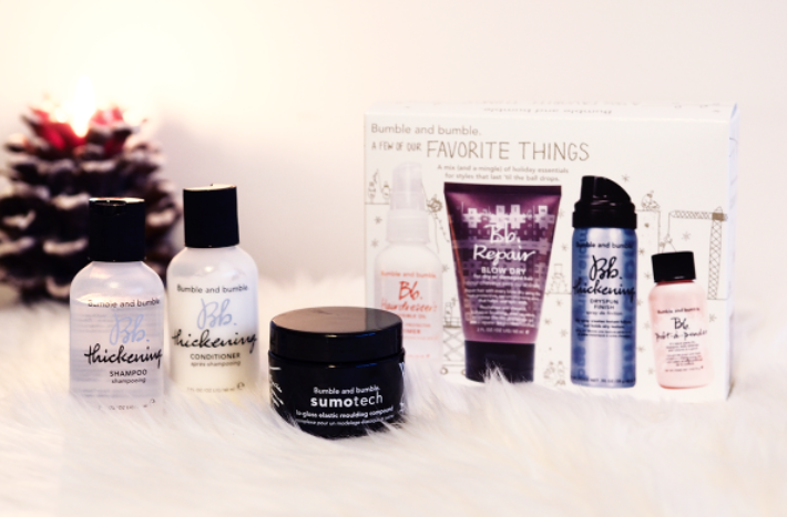 The Launch of the Bumble and Bumble Christmas Gift Sets